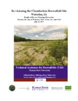Chamberlain Site Waterloo IA TAB Re-Visioning Report 07-18-2017